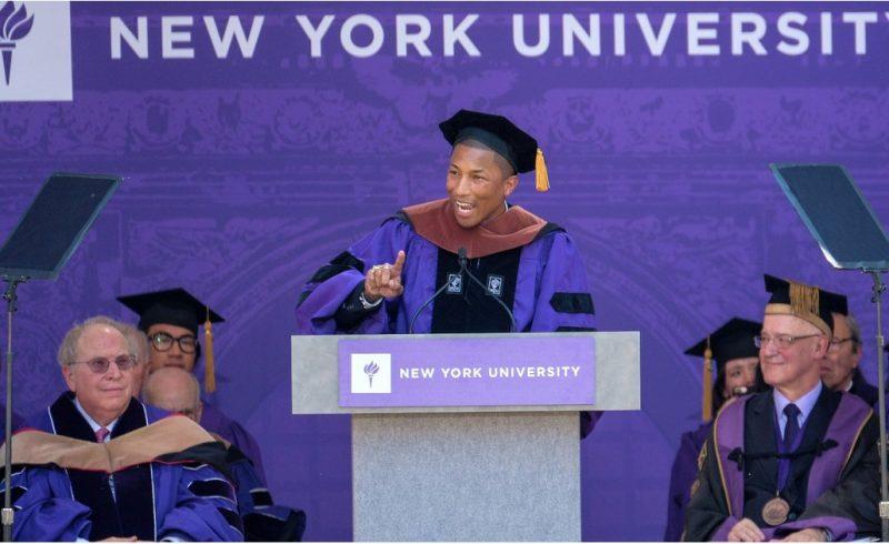 Фаррелл Вільямс виступив перед студентами Нью-Йоркського університету із промовою на підтримку фемінізму