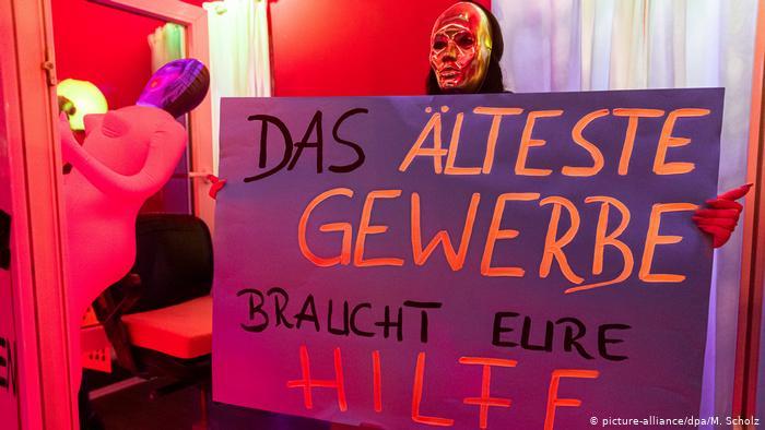 Акція з вимогою відкриття борделів у Гамбурзі, Німеччина