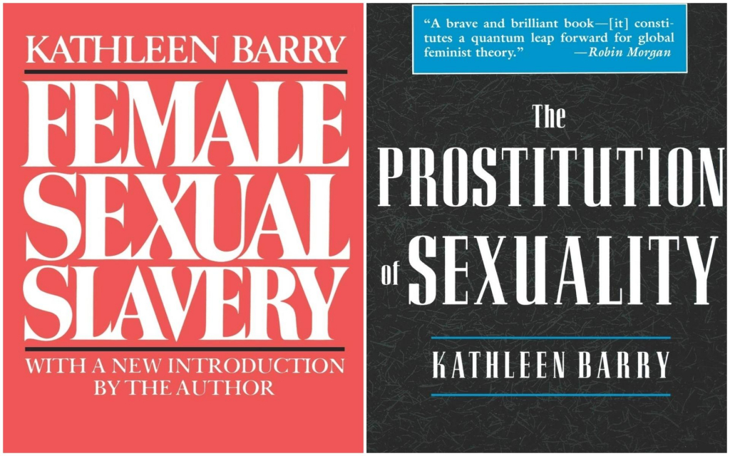 Видання «Жіноче сексуальне рабство» (Female Sexual Slavery, 1979) та «Проституйована сексуальність» (Prostitution of Sexuality, 1995)