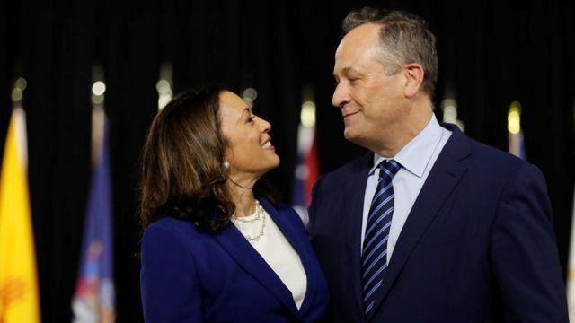 Камала Гарріс із чоловіком
