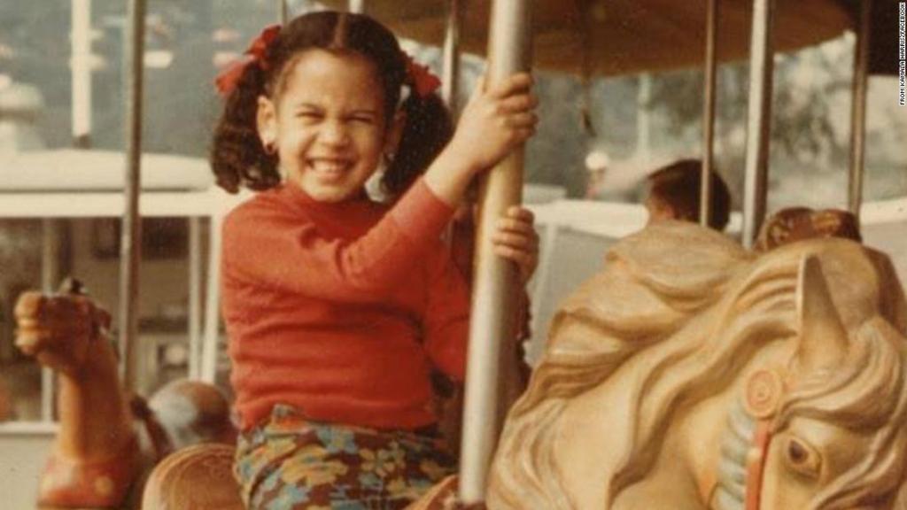 Камала Гарріс у дитинстві