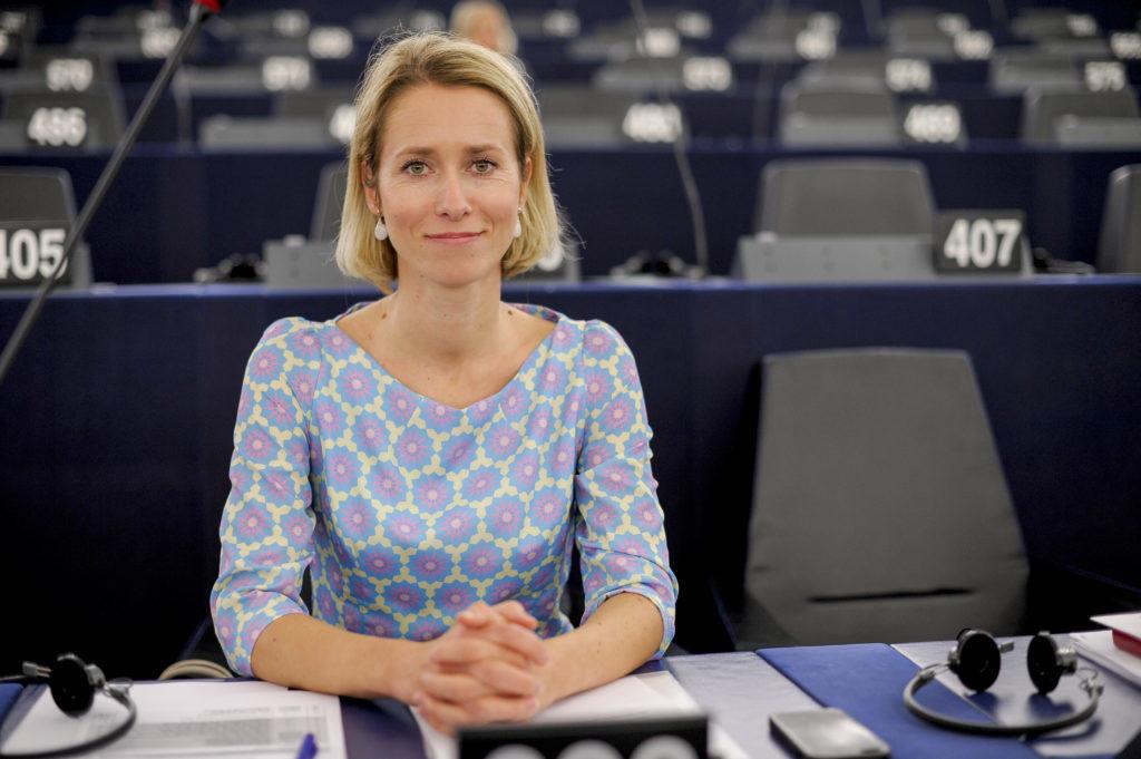 Кая Каллас була депутаткою Європарламенту