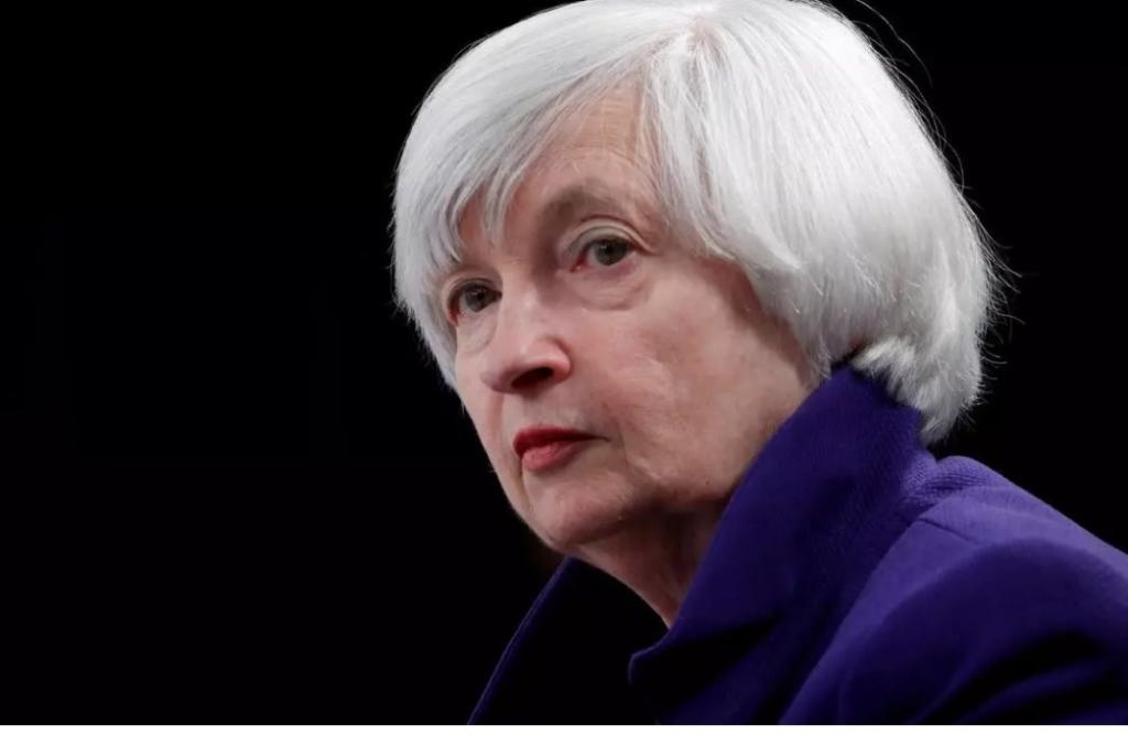 Джанет Єллен, міністерка фінансів США