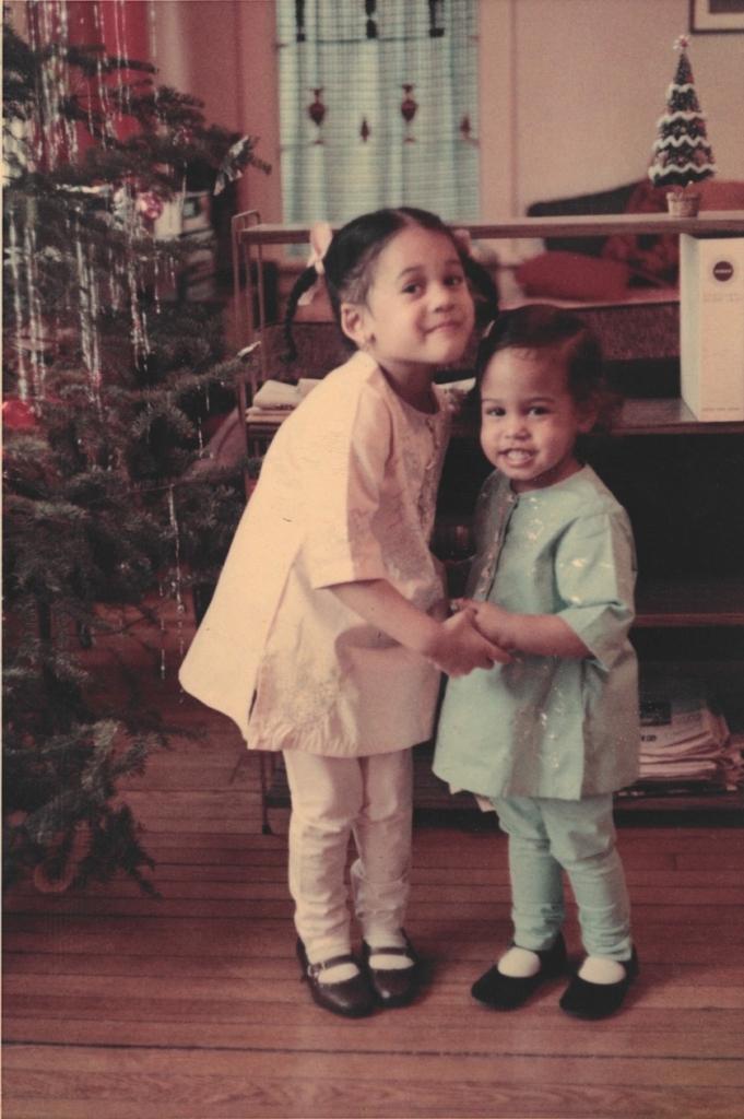 Камала Гарріс із сестрою