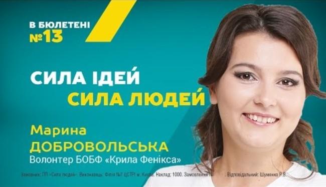 Марина Добровольська