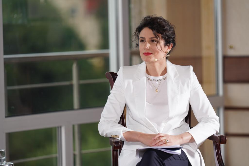 Світлана Панаіотіді, заступниця міністра  розвитку економіки, торгівлі та сільського господарства України