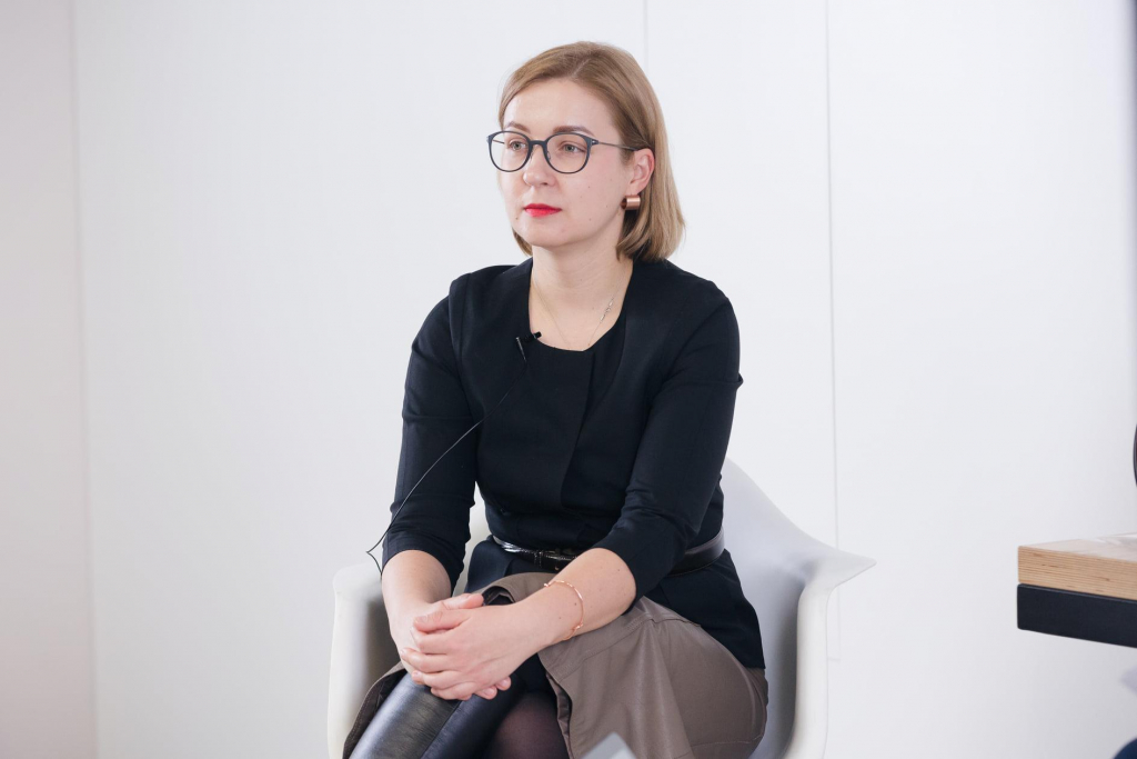 Інна Совсун, учасниця марафону Час жіночого лідерства