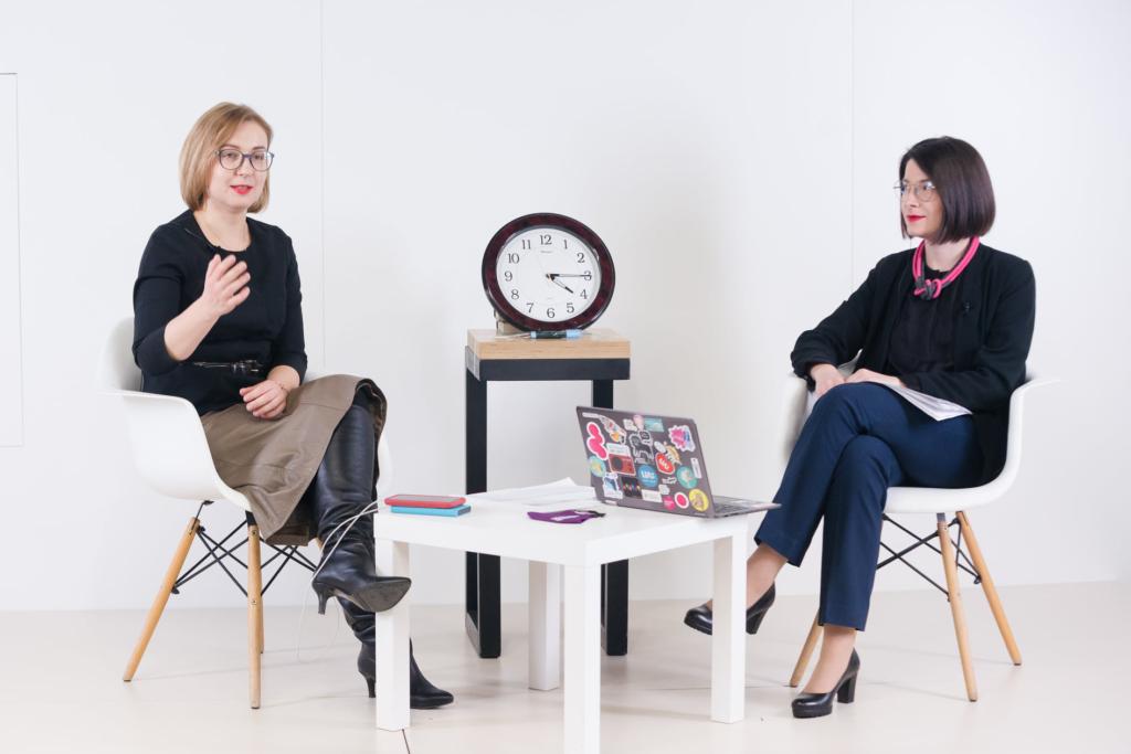 Інна Совсун та Ірина Славінська, марафон Час жіночого лідерства