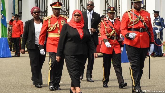 Самія Хасан Сулуху, президентка Танзанії