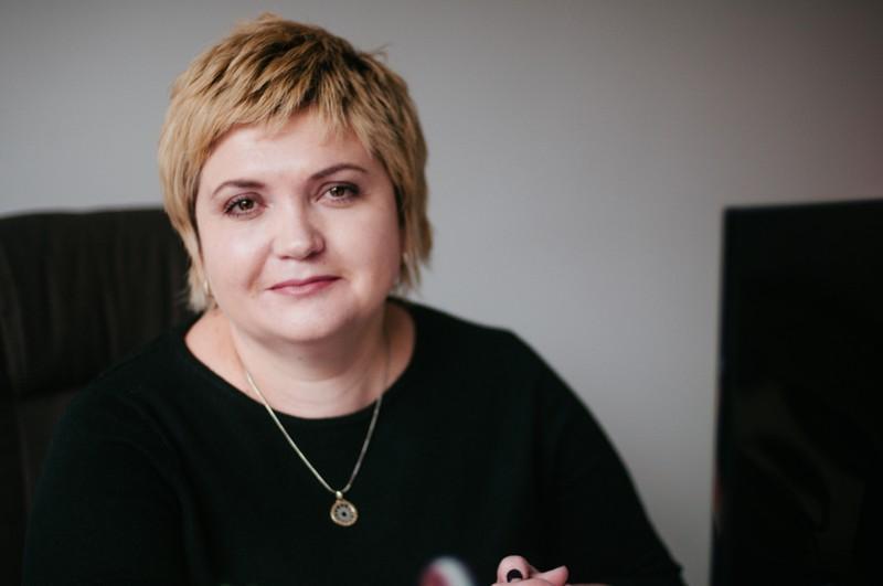 Наталія Карбовська, директорка зі стратегічних питань МБФ «Український жіночий фонд»